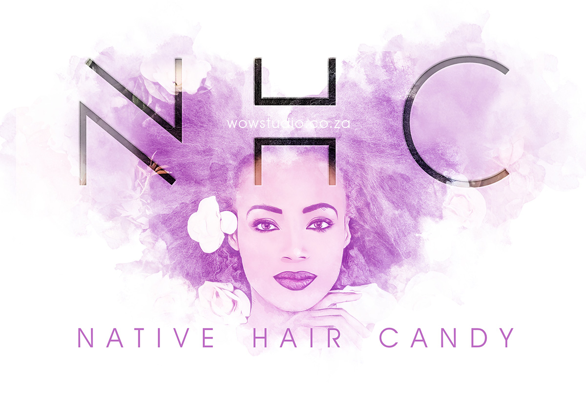 Native Hair Candy Branding Project by WOW Creative Design Studio