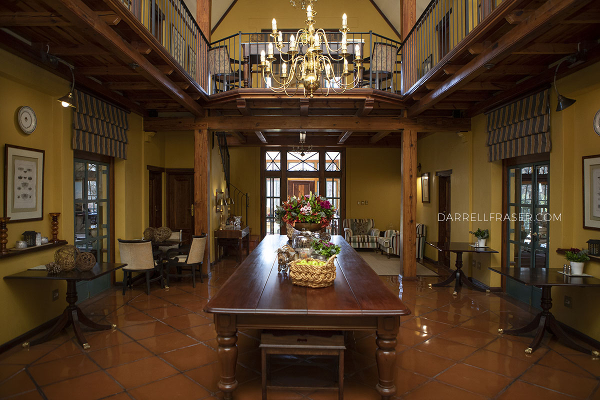 Darrell Fraser De Hoek Country Estate Interior Photography