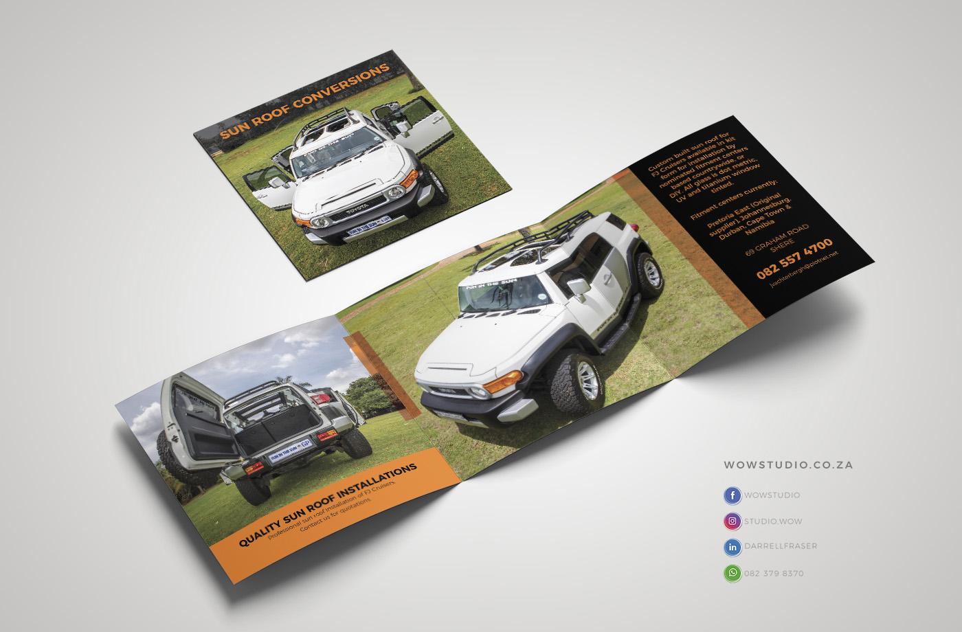 Brochure Design WOW Creative Design Studio