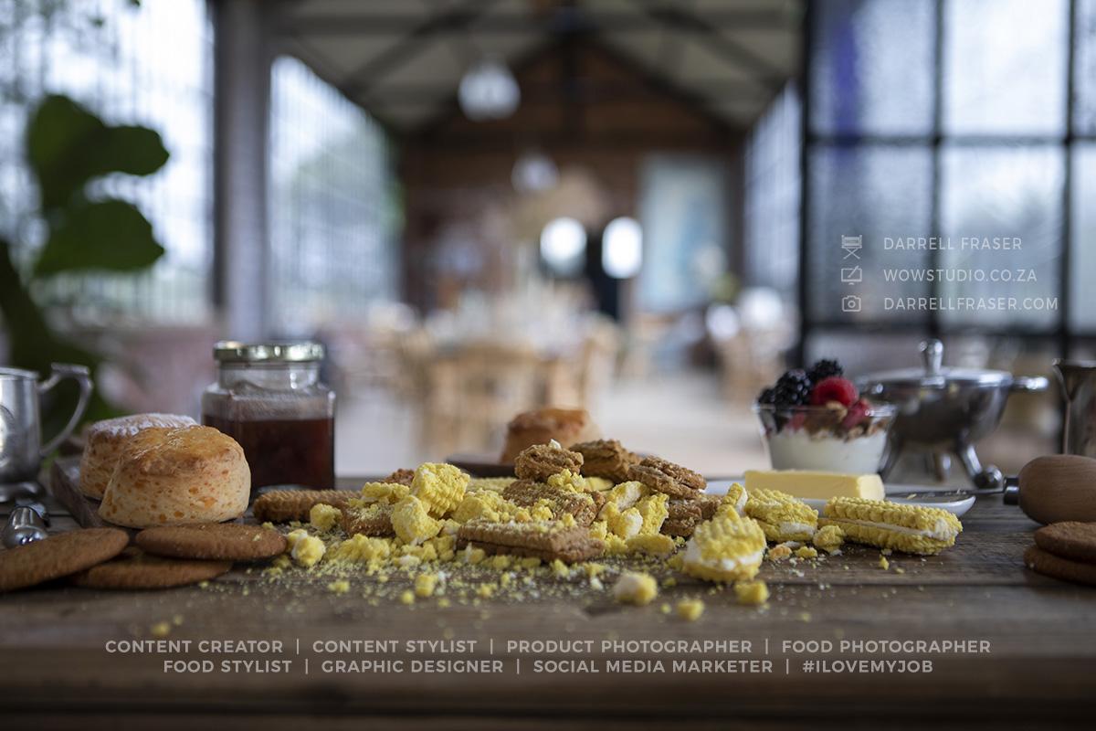 Darrell Fraser Food Photographer Content Creator Food Stylist Pretoria George Western Cape