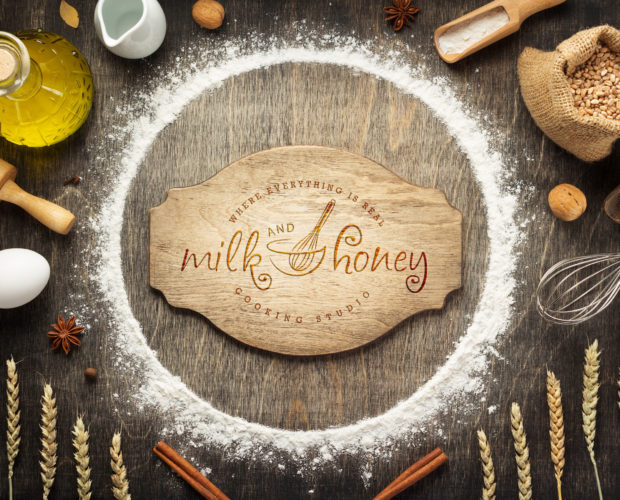 WOW Studio Branding for Milk and Honey Cooking Studio