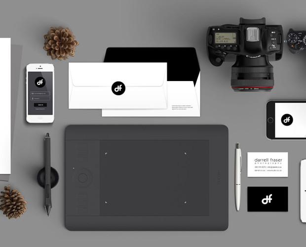 Darrell Fraser Branding by WOW Studio