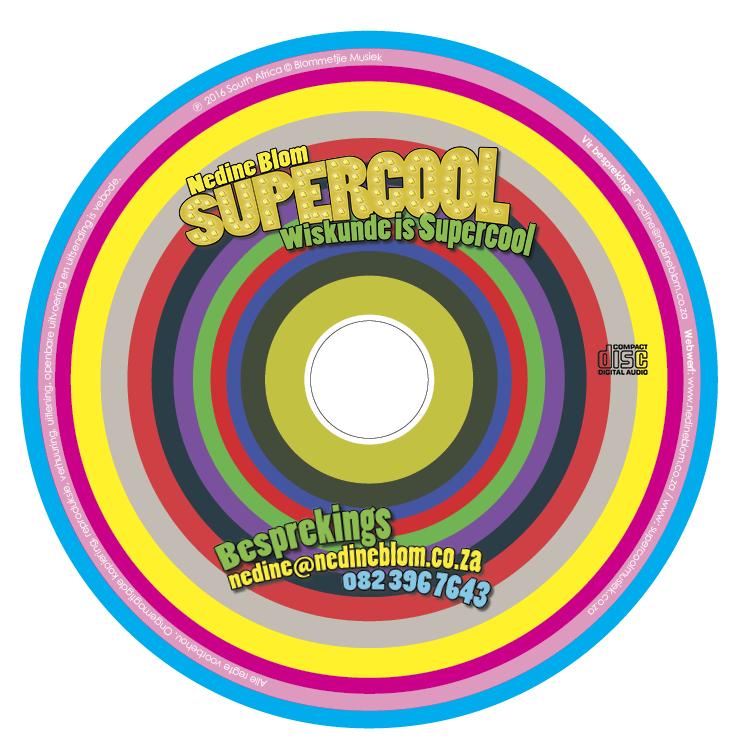 CD Cliche Design for Nedine Blom WOW Studio
