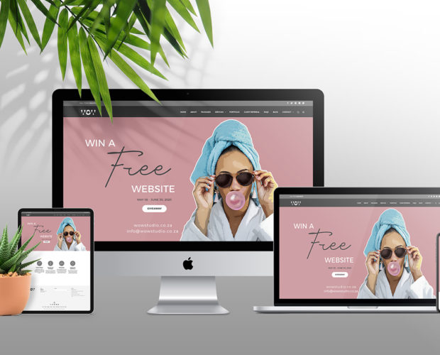 Win A Free Website Design WOW Creative Design Studio